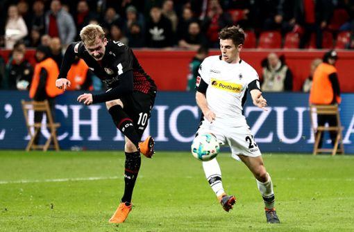 Bayer Leverkusen gewinnt Heimspiel gegen Gladbach