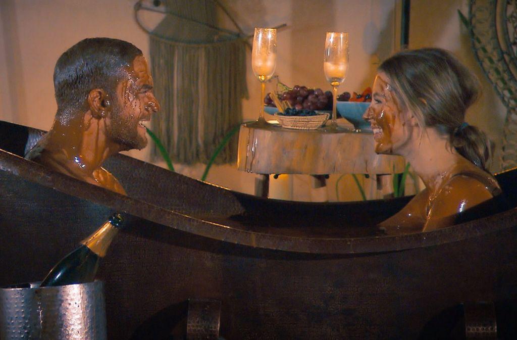 Sebastian und Wioleta kamen sich beim Einzeldate näher.Foto:RTL/ TVNOW Foto: