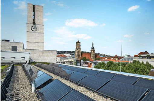 Wirbel um Fotovoltaik am Rathausturm wird heftiger