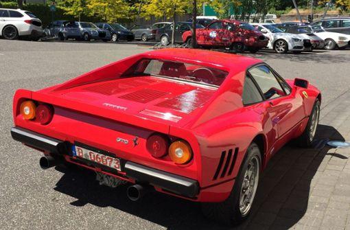 Zwei-Millionen-Euro-Ferrari wieder aufgetaucht
