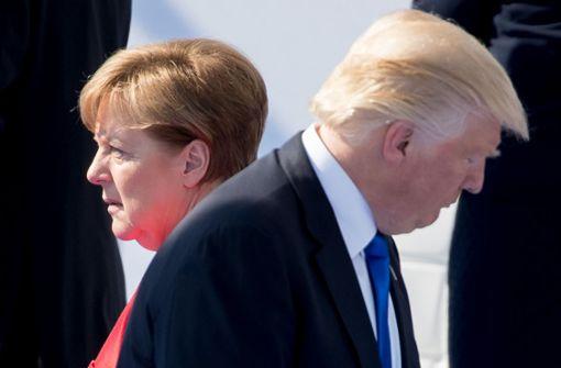 Bundeskanzlerin attackiert  US-Präsident Donald Trump