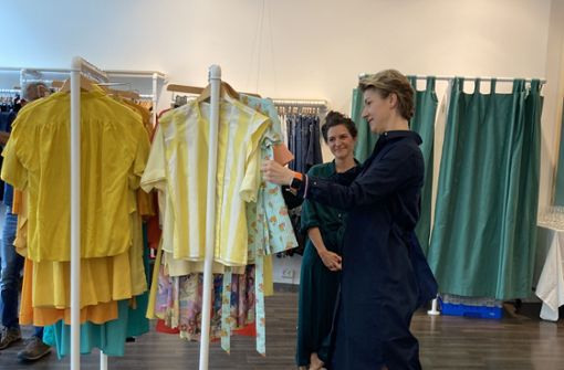 Bürgermeisterin Sußmann liebt neuen Store im Gerber
