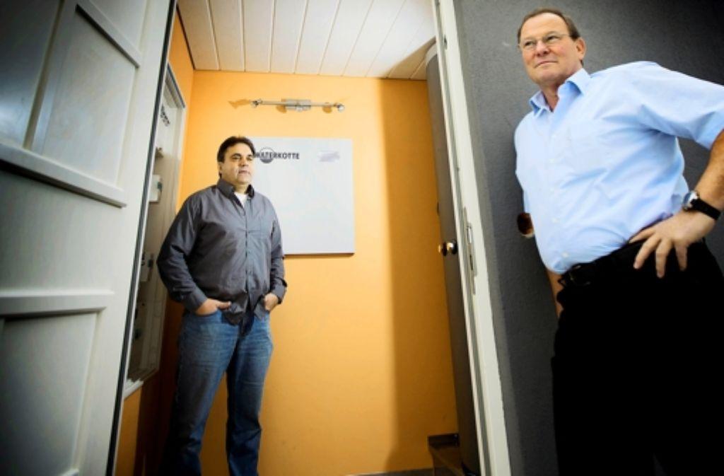 Gerhard Prinz (links) und Dirk Storz sind ausgezeichnet worden. Foto: Gottfried Stoppel