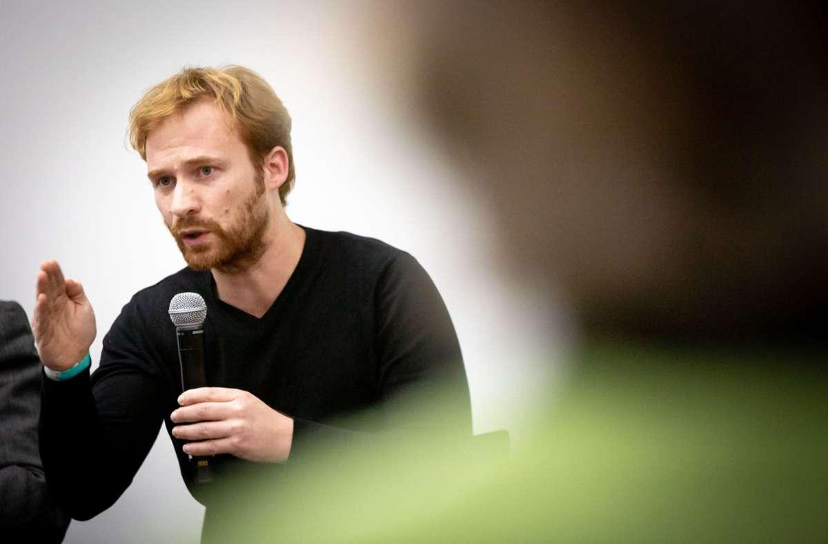 Hannes Rockenbauch will Oberbürgermeister in Stuttgart werden. Foto: Lichtgut/Julian Rettig