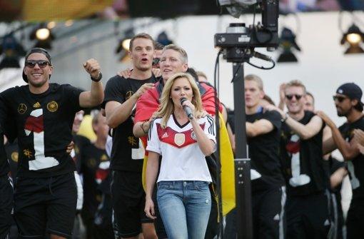 Helene singt - und die DFB-Elf rastet aus