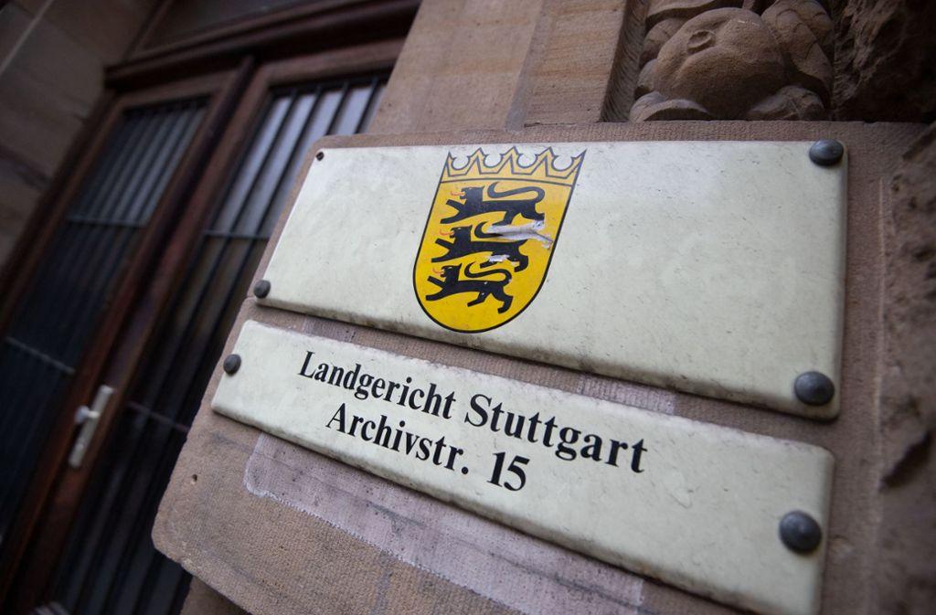 Am Donnerstag ist am Stuttgarter Landgericht ein Geldwäsche-Prozess gestartet. Foto: Marijan Murat/dpa