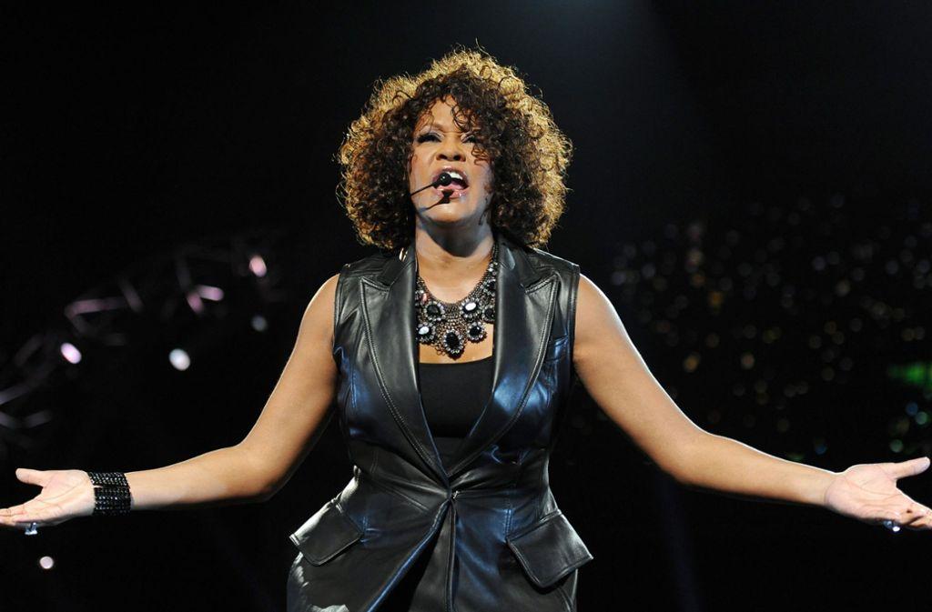 Mittels Hologramm-Technik soll Whitney Houston zurück auf die Bühne kommen. Foto: dpa