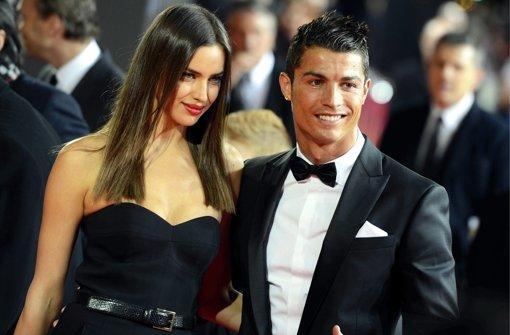 Cristiano Ronaldo macht sich nackig
