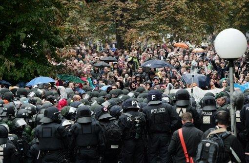 War der Einsatz am 30. September im Schlossgarten rechtmäßig? Foto: dpa