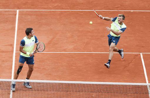 Deutsches Doppel erneut im Finale der French Open