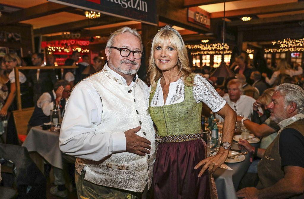 20 Jahre Top-Wasenparty: Hans-Peter Grandl und Karin Endress Foto: Lichtgut/Christoph Schmidt