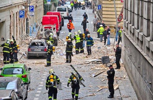 Mehr als 50 Verletzte bei Hausexplosion