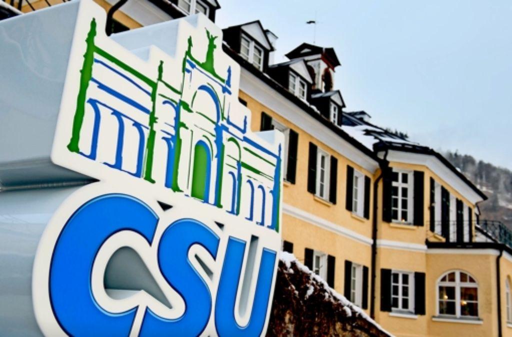 Wildbad Kreuth war jahrelang ein Mythos für die CSU. Nach diesem Jahr    vertreiben die hohen Mietkosten die Partei. Foto: dpa