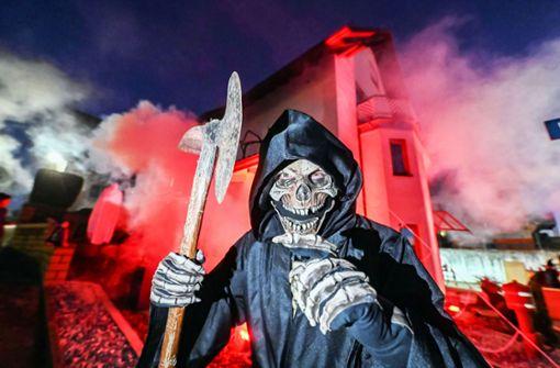 Halloween-Spektakel in Durmersheim