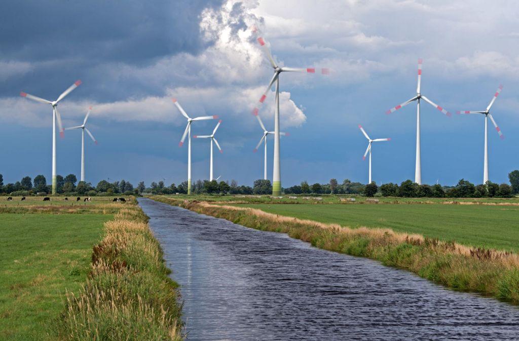 Gegen den Bau von  Windparks wird vielfach geklagt. (Symbolbild) Foto: dpa