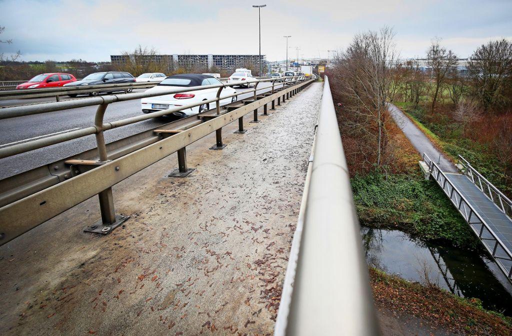 Die Schwippe-Brücke ist in einem schlechten Zustand. Foto: factum/Granville
