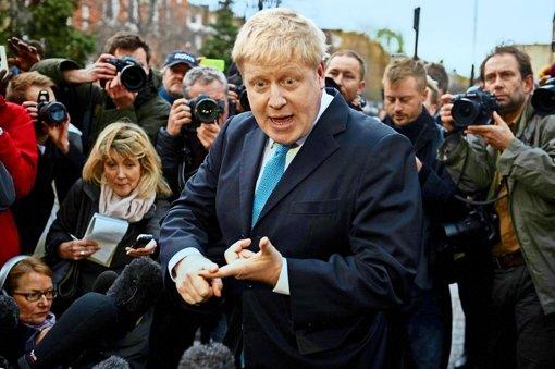 Der Konservative Boris Johnson, Bürgermeister in London, gilt schon als Schlüsselfigur im Lager der Austrittsbefürworter. Foto: AFP