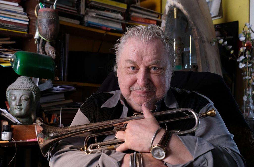 Begnadeter Trompeter: Herbert Joos Foto: dpa/Bernd Weissbrod