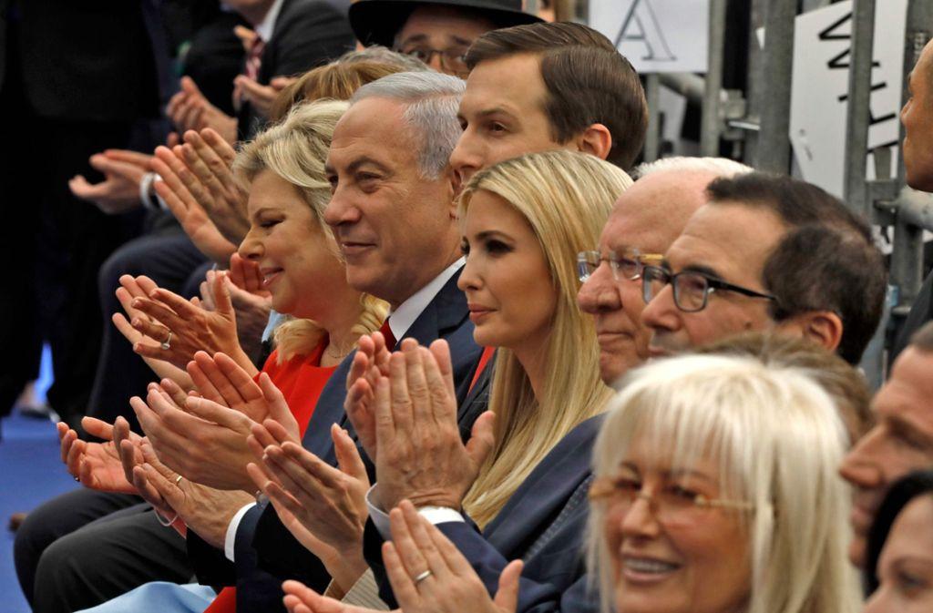 Die USA haben ihre Botschaft in Jerusalem offiziell eröffnet. Foto: AFP