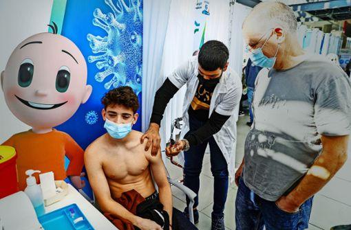 Israel impft auch Jugendliche und Kinder