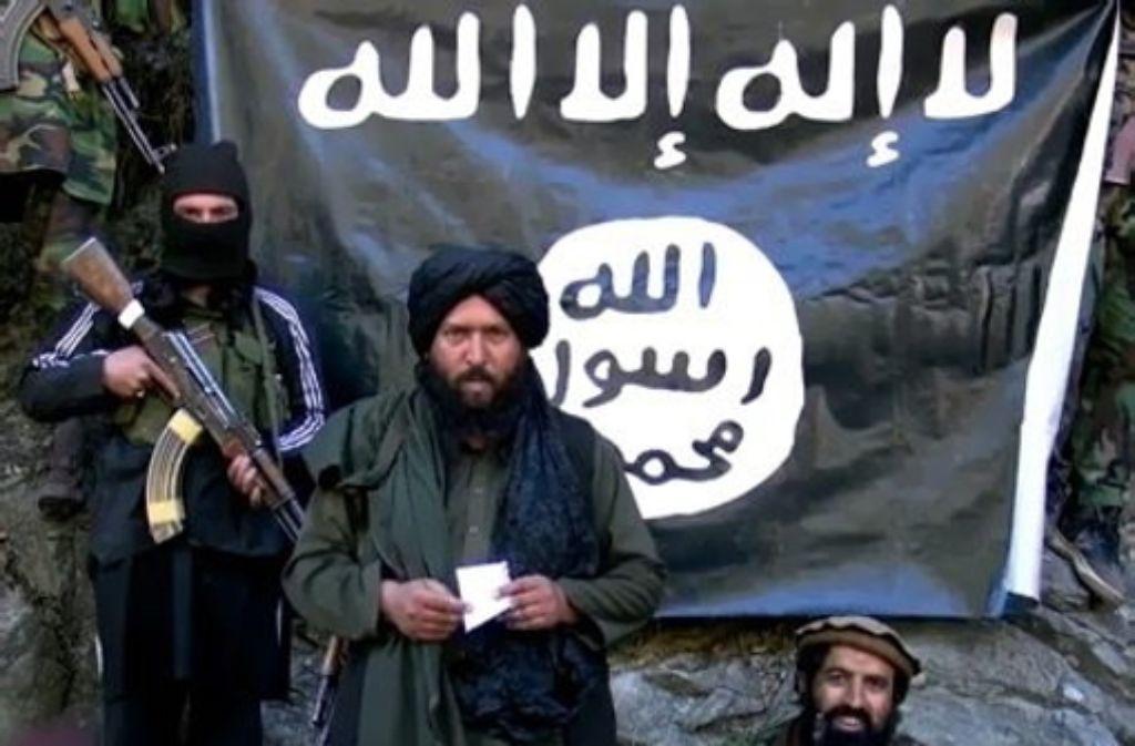 Aufnahme aus einem Propaganda-Video des Islamischen Staats. Foto: dpa
