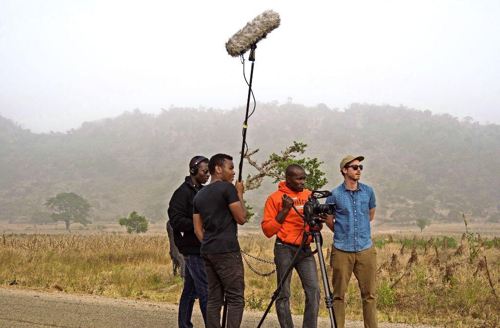 """Johannes Preuss dreht schon seine nächste Dokumentation: Diesmal geht es um die Filmbranche in Nigeria. Weitere Bilder zu """"Galamsey"""" und anderen Gewinnern von Studentenoscars an der Filmakademie finden Sie in unserer Bildergalerie. Foto: privat"""