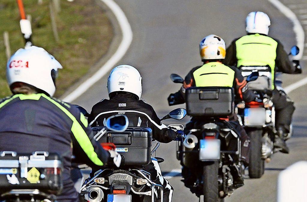 Pünktlich zum Start der Motorradsaison Anfang April sollen die Lärmdisplays an der Magstadter Straße installiert sein. Foto: dpa/Patrick Seeger