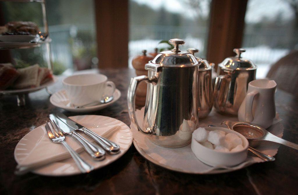 In der Calwer Straße in Stuttgart wird jetzt zum Afternoon Tea geladen. Foto: Getty Images Europe