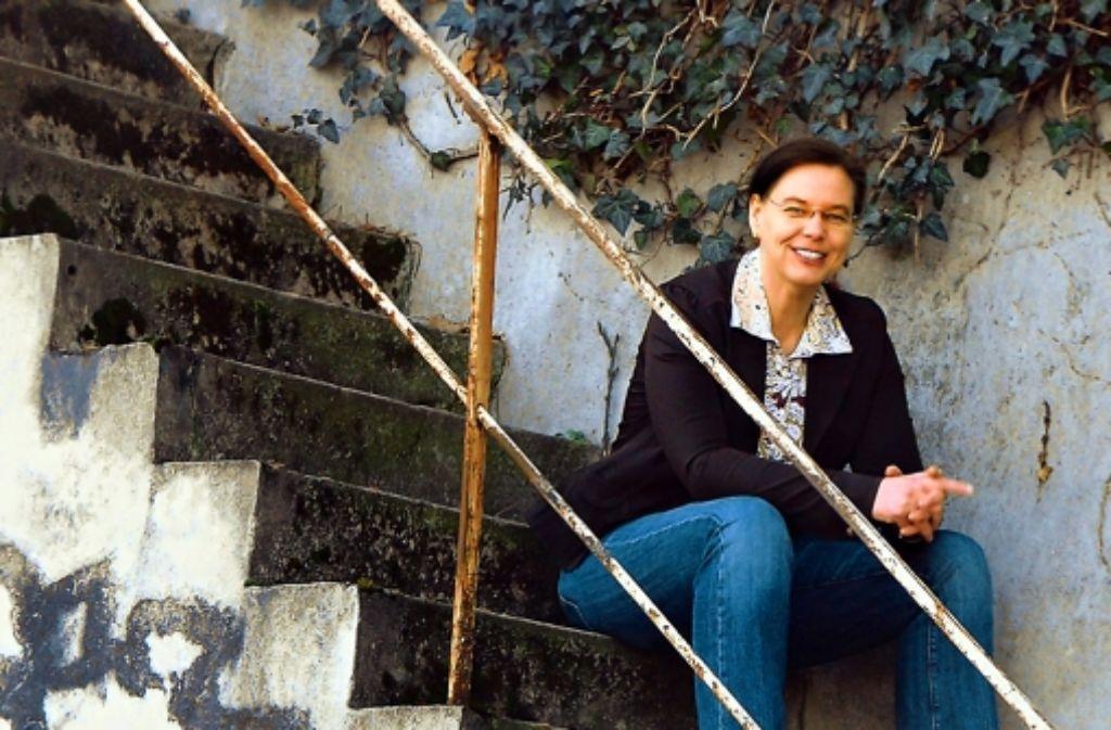 Die Krimiautorin Christine Lehmann Foto: Verlag