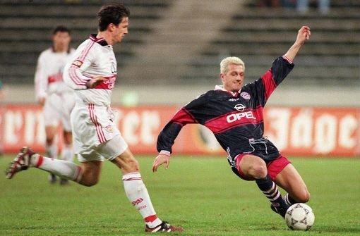 Bayern gegen VfB - Fußballer in doppeltem Einsatz