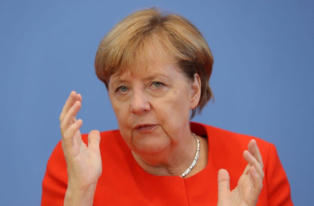 Für Angela Merkel ist der Wahlkampf eigenen Angaben zufolge nicht langweilig. Foto: Getty Images Europe