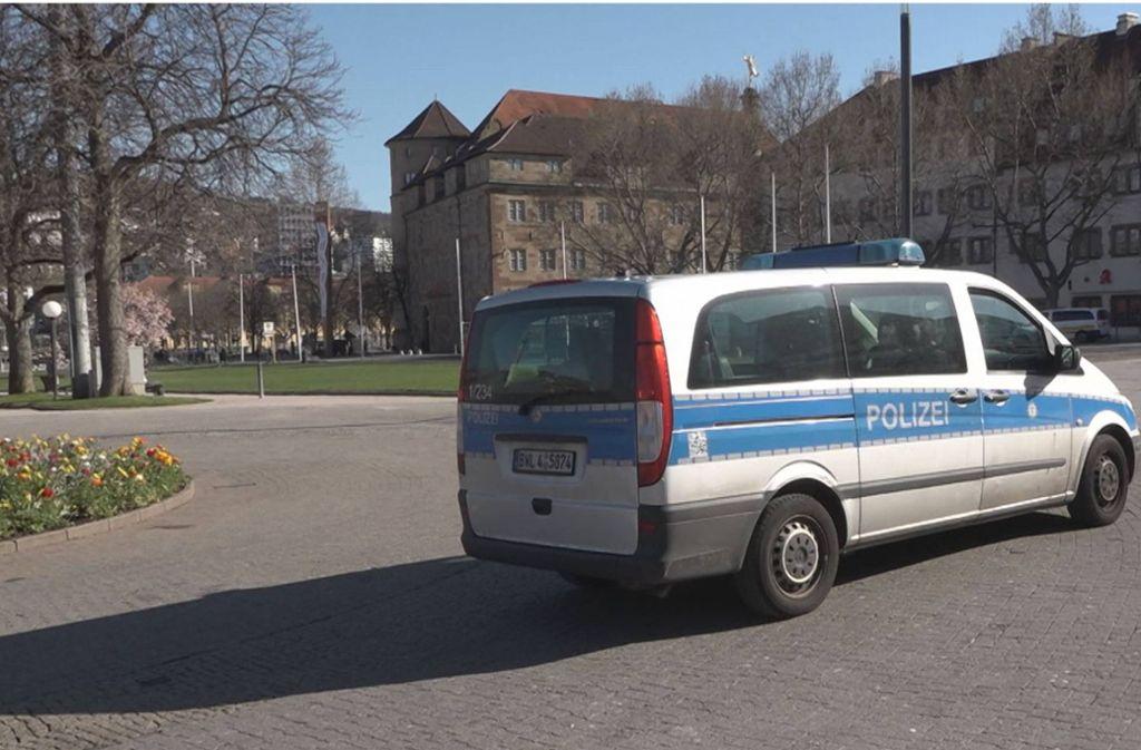Die Polizei fährt in Stuttgart vermehrt Streife und zeigt Präsenz. Foto: 7aktuell.de/Oskar Eyb/7aktuell.de   Oskar Eyb