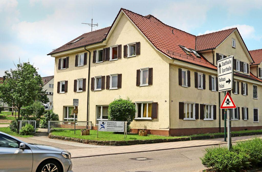 Das Hoffmannhaus der Brüdergemeinde steht in der Zuffenhauser Straße. Es ist  noch immer eine  Einrichtung der Jugendhilfe. Foto: factum/Granville