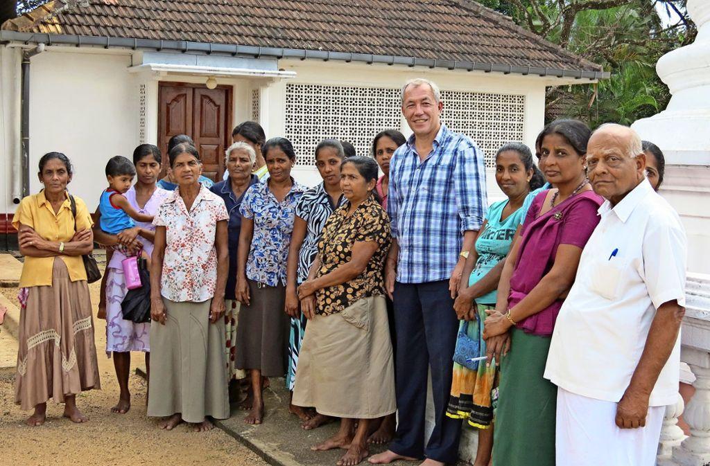 Als Manager ohne Grenzen hat Gerhard Ziegler in Sri Lanka Land und Leute intensiv kennengelernt. Er schätzt die offene und gastfreundliche Art der Landsleute. Foto: privat