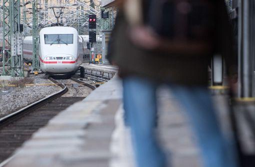 ICE über Stuttgart fährt an Streiktagen nicht nach Frankreich