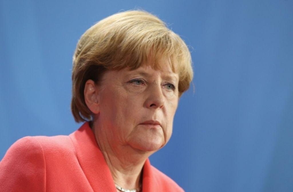 Angela Merkel wurde ob ihres langen Schweigens angesichts rechtsextremer Ausschreitungen immer heftiger kritisiert. Foto: Getty Images