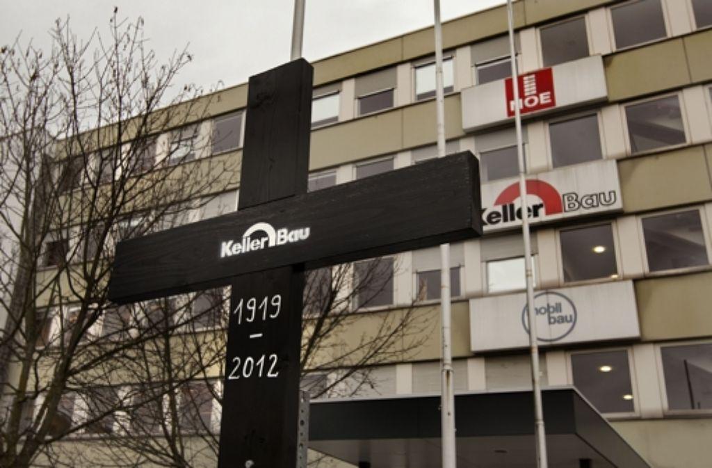 Die   Mitarbeiter haben den Betrieb schon zu Grabe getragen. Foto: Horst Rudel