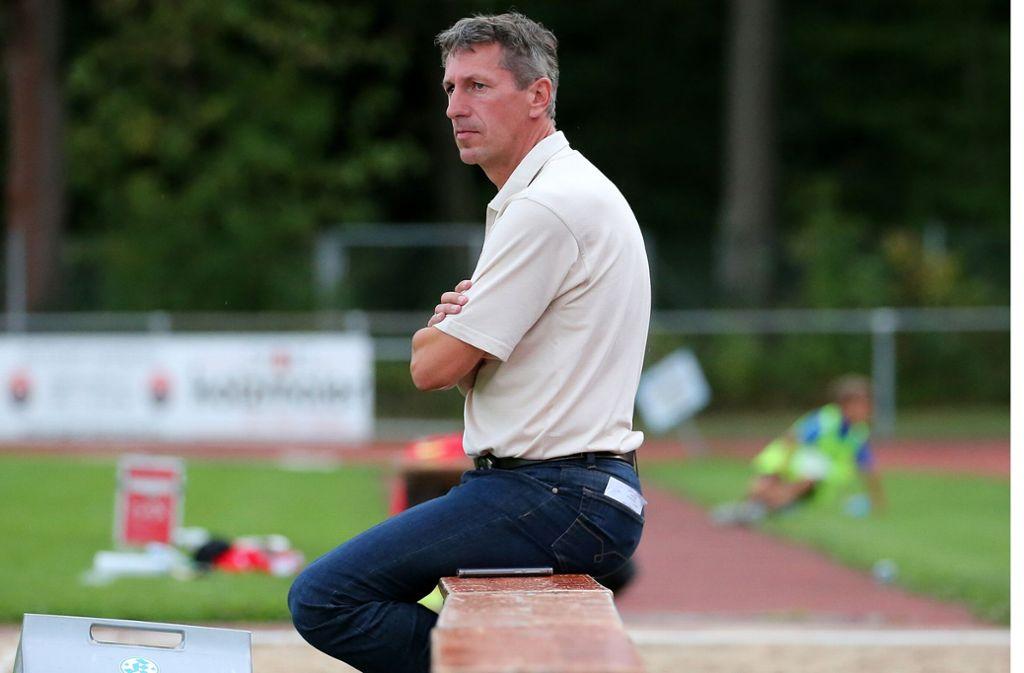 Durchlebt keine einfache Zeit bei den Stuttgarter Kickers: Der Sportliche Leiter Martin Braun. Foto: Baumann
