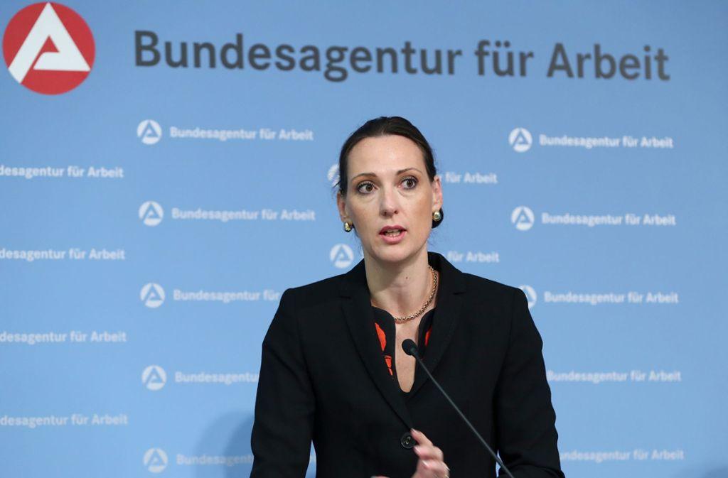 Valerie Holsboer muss vorzeitig ihre Position bei der Bundesagentur für Arbeit  räumen. Foto: dpa