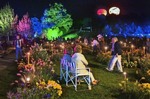 Musik und Lichterglanz im Grünen