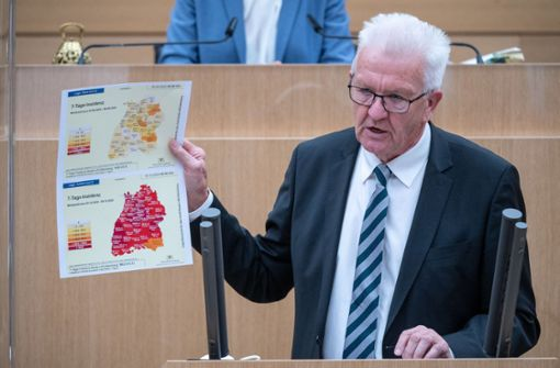 Kretschmann fordert nach Kritik Unterstützung der Bürgermeister
