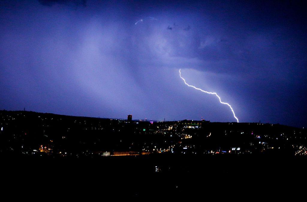 Vor allem am Samstagabend muss man mit heftigen Gewittern rechnen. Foto: 7aktuell.de/Simon Adomat