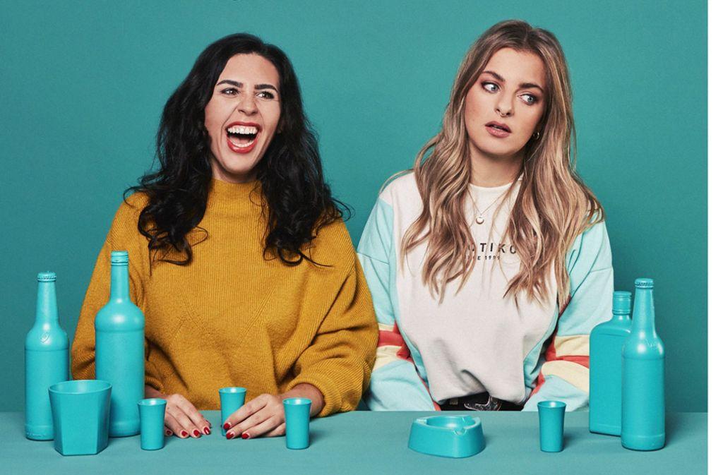 Zum Kreischen: Ariana Baborie und Laura Larsson Foto: Promo