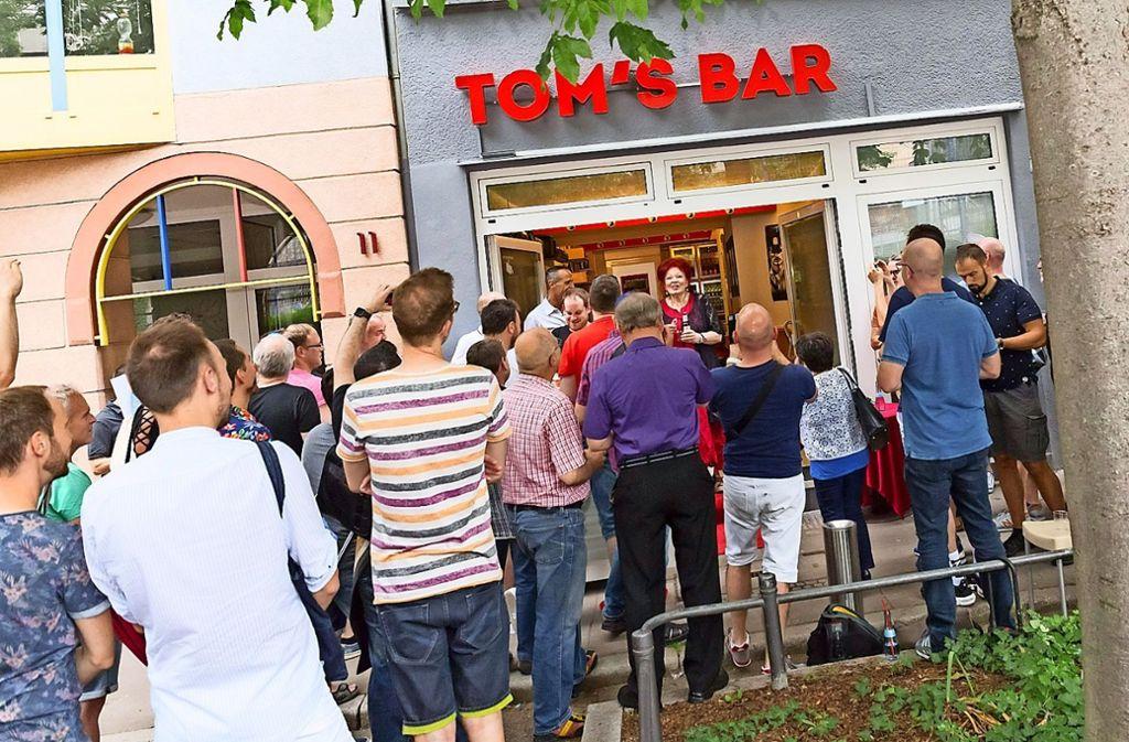 Einige Monate ist es her, da feierte das neue Lokal an der Pfarrstraße in Anwesenheit von Politikern seine Eröffnung. Wie lange es die Bar für Homosexuelle geben wird, ist aber ungewiss. Foto: Andreas Engelhardt