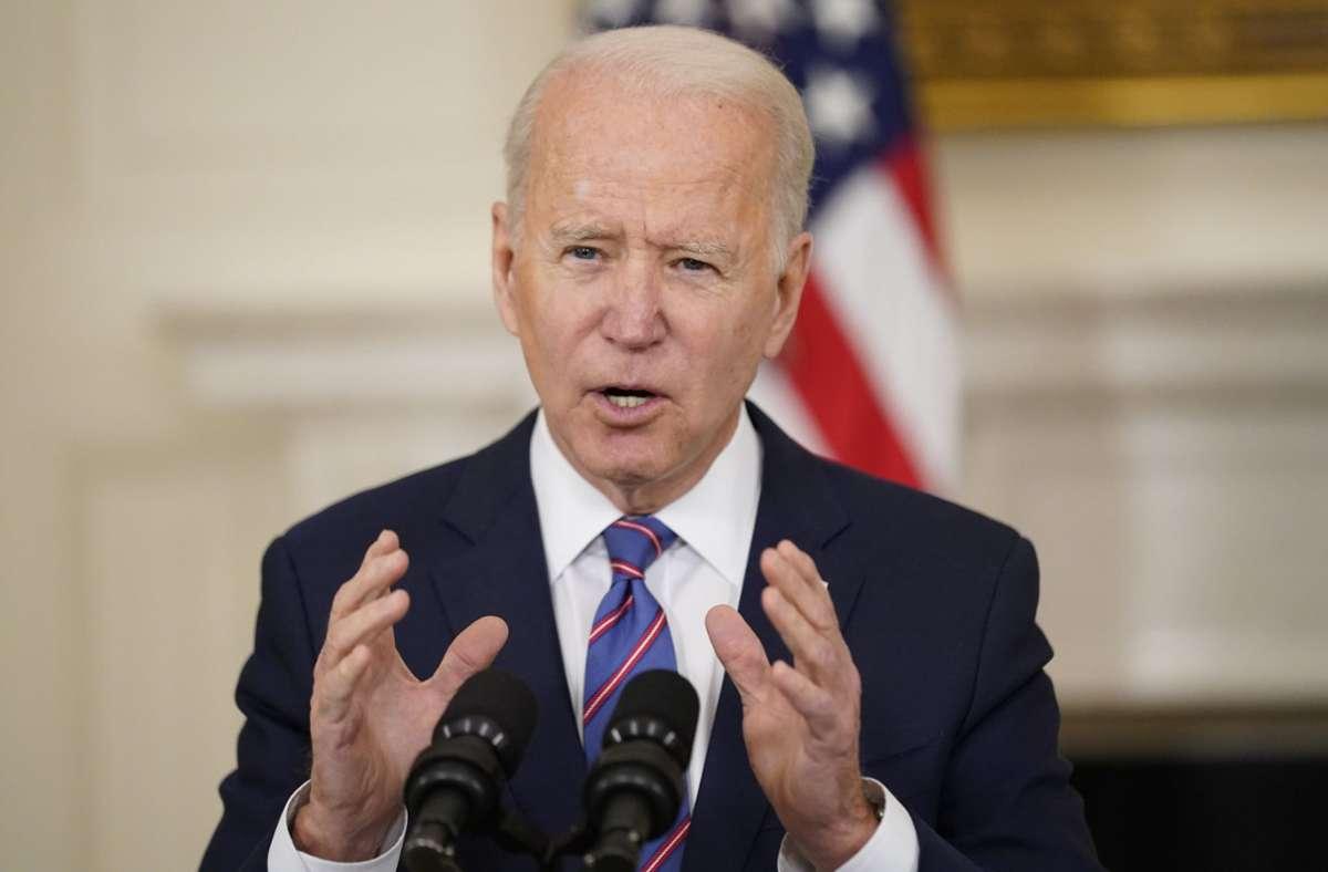 Joe Biden hat ehrgeizige Klimaziele. Foto: dpa/Andrew Harnik