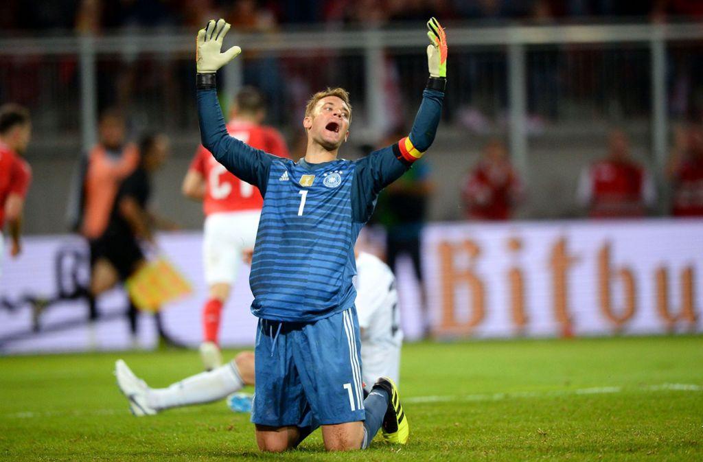 Wieder ganz der Alte: Manuel Neuer Foto: AFP