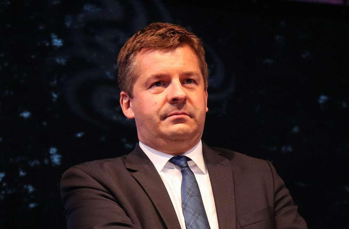 CDU-Landesvorsitzender Sven Schulze führt Koalitionsverhandlungen mit SPD und FDP. (Archivbild) Foto: imago images/Christian Schroedter/Christian Schroedter via www.imago-images.de