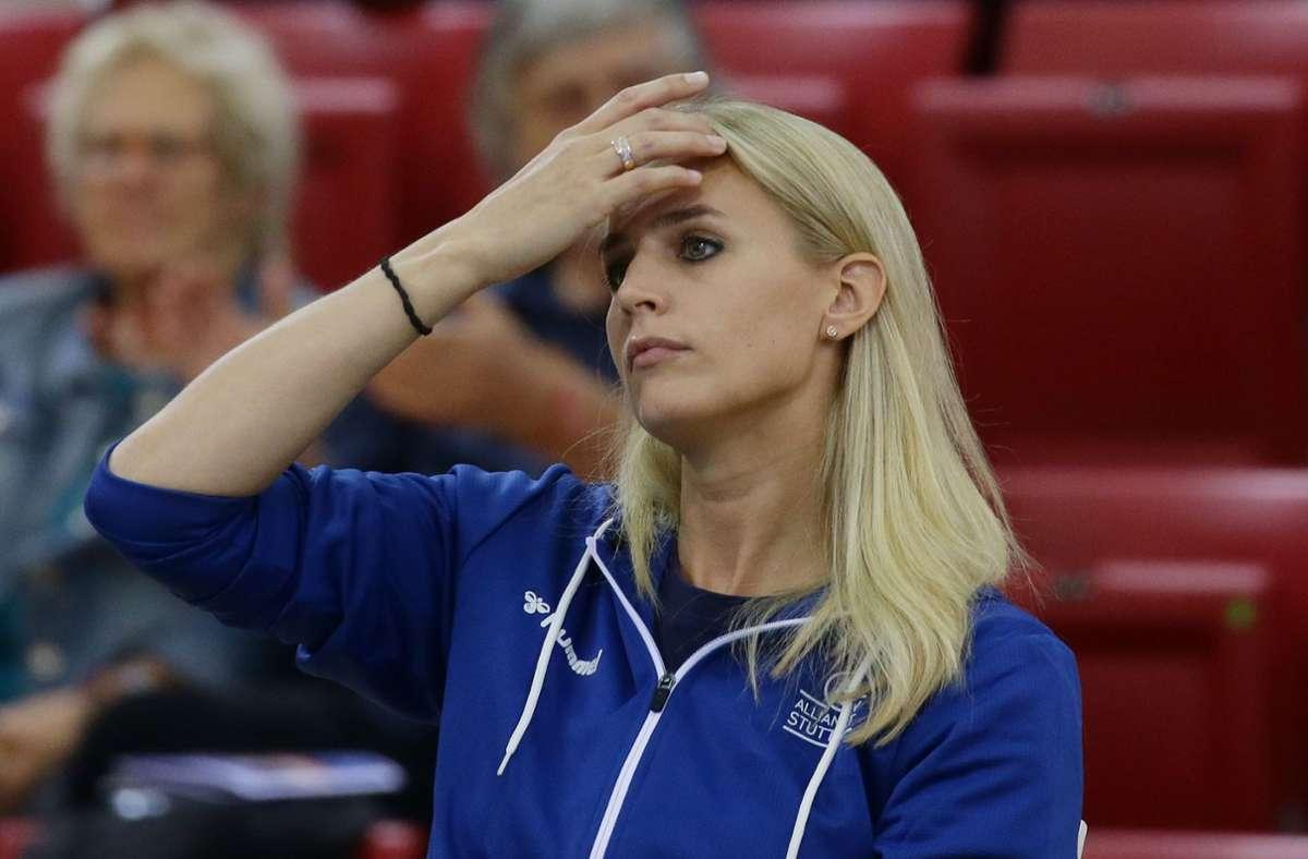 Kim Renkema macht sich Sorgen um ihren Verein, Allianz MTV Stuttgart. (Archivbild) Foto: Pressefoto Baumann/Hansjürgen Britsch