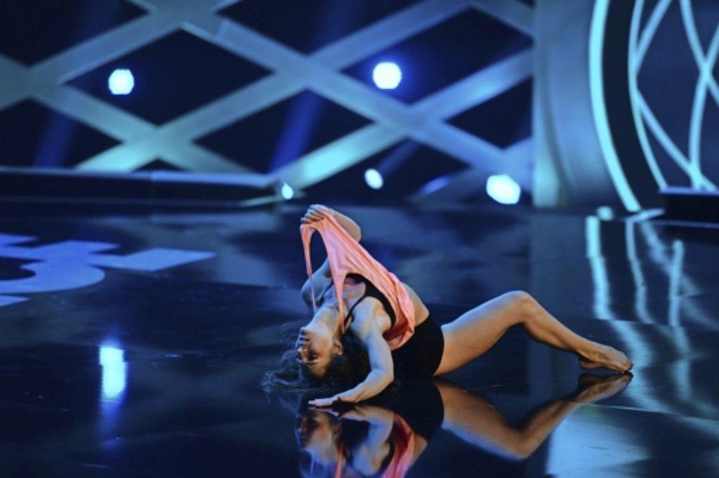 """Afina gibt alles. Doch wie hat es der Jury der ProSieben-Show """"Got to Dance"""" gefallen? Foto: ProSieben"""