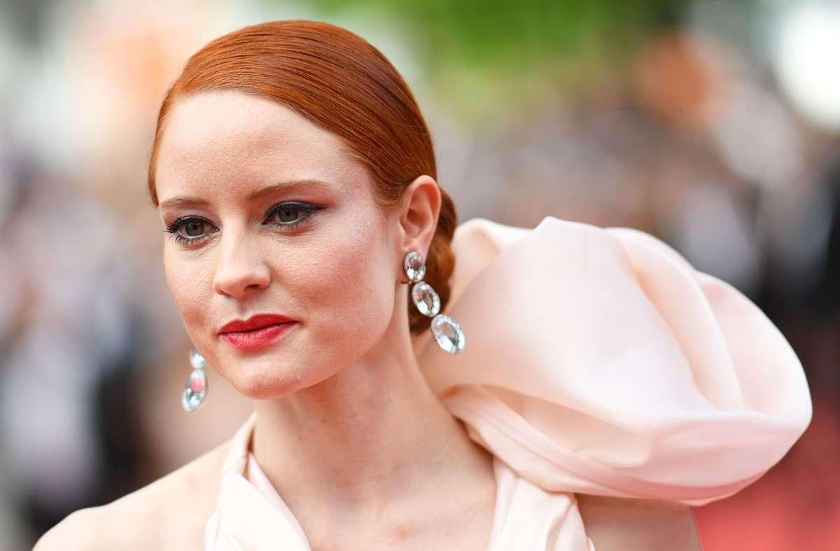 Barbara Meier 2018 in Cannes (Archivbild) Foto: AFP/LOIC VENANCE